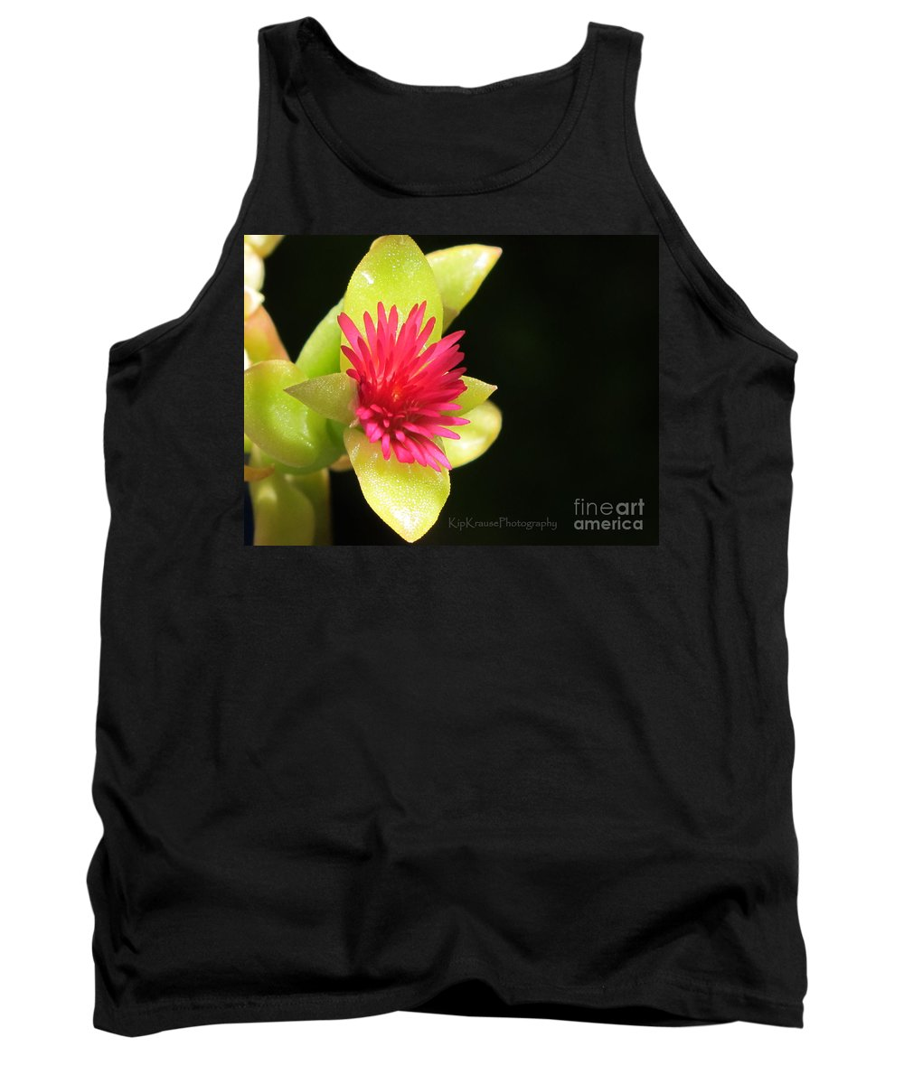 Flash Tank Top featuring the photograph Flower - Delicate As Life by Kip Krause