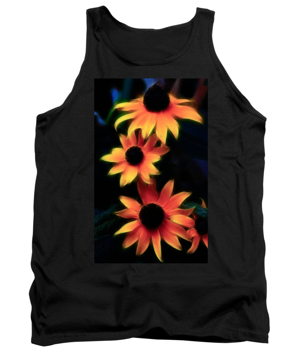 Daisy Tank Top featuring the photograph Color Me Pink by Athena Mckinzie