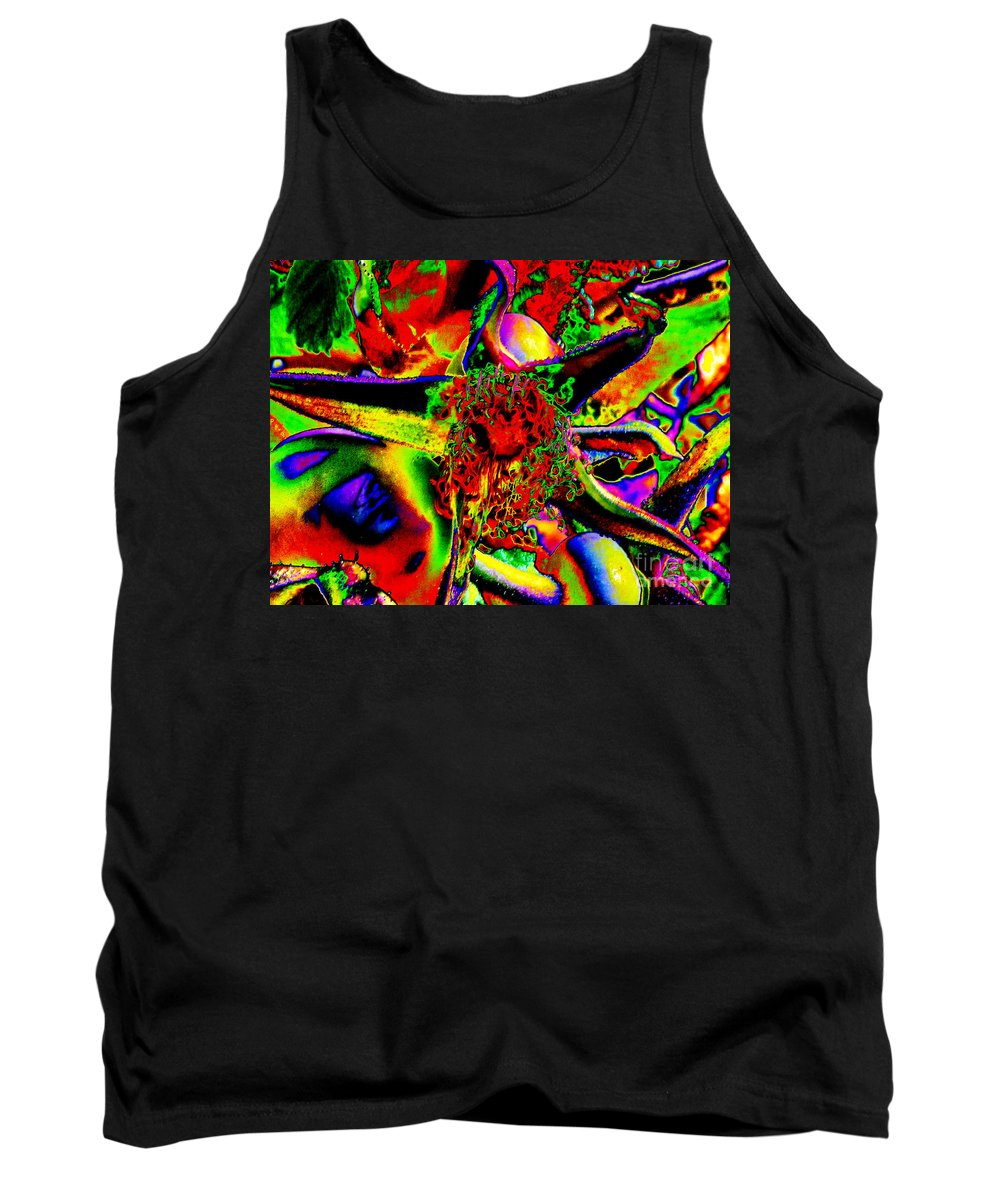 Ron Tackett Photography Tank Top featuring the photograph Color Star by Ron Tackett