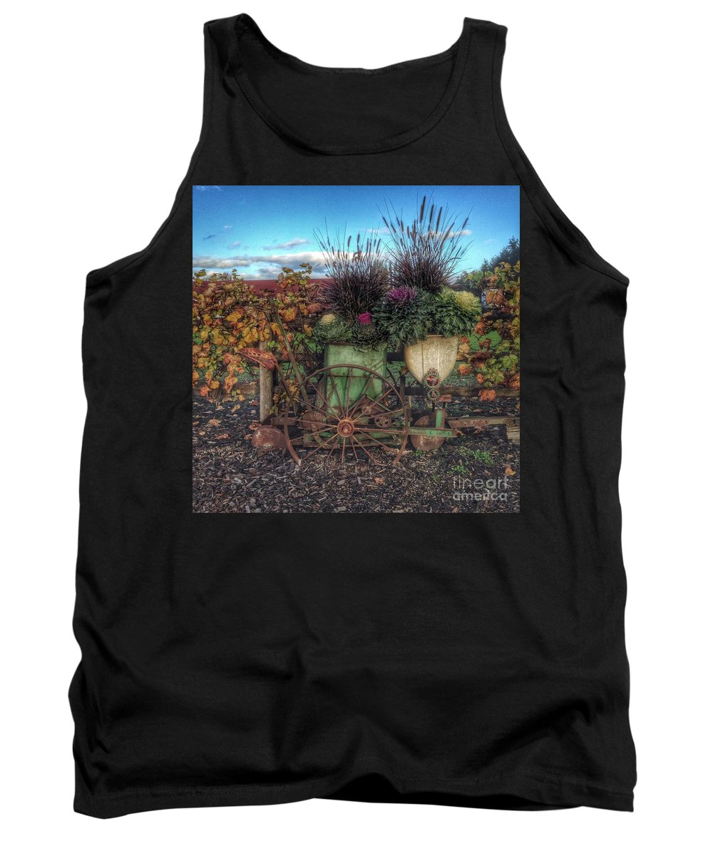 Colors Tank Top featuring the photograph Colors Of Autumn by Charlene Mitchell