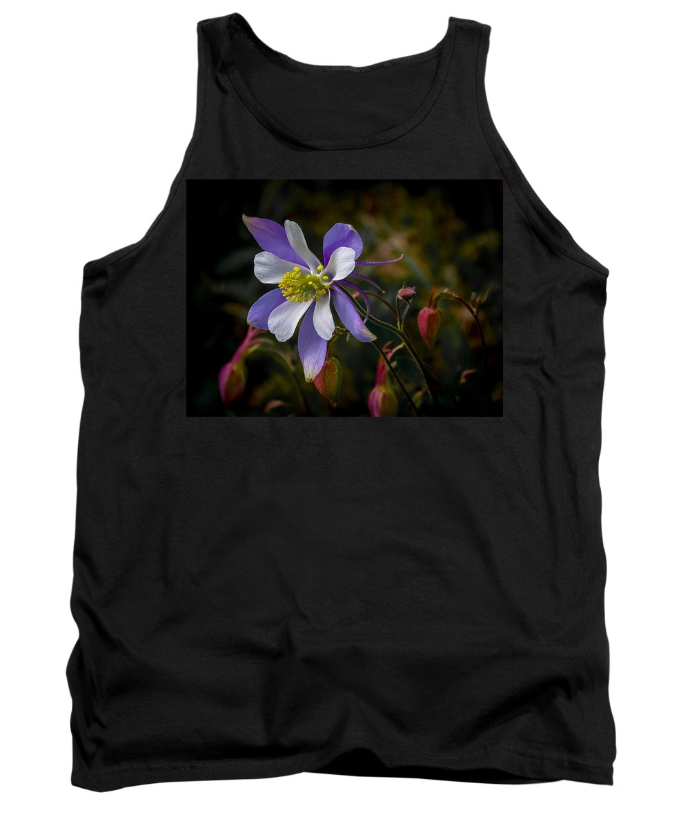 Artwork Tank Top featuring the photograph Columbine 3 by Ernie Echols