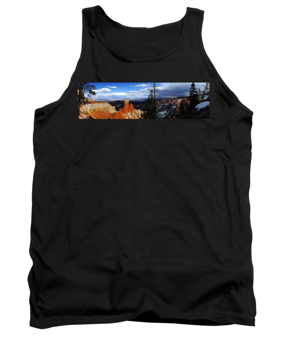 Panorama Tank Top featuring the photograph Coming Storm by Tayne Hunsaker