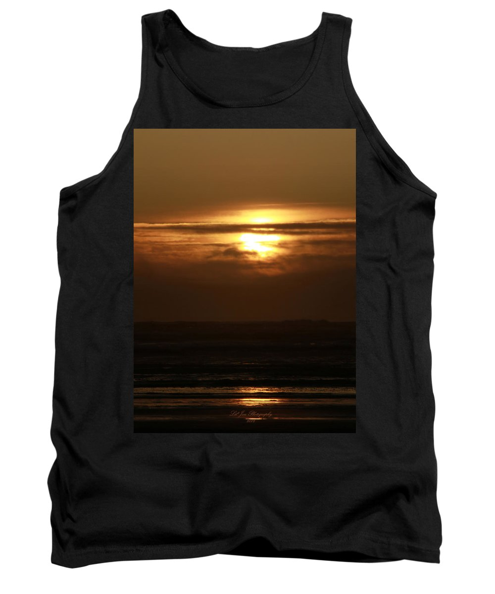 Ocean Tank Top featuring the photograph Completion by Jeanette C Landstrom