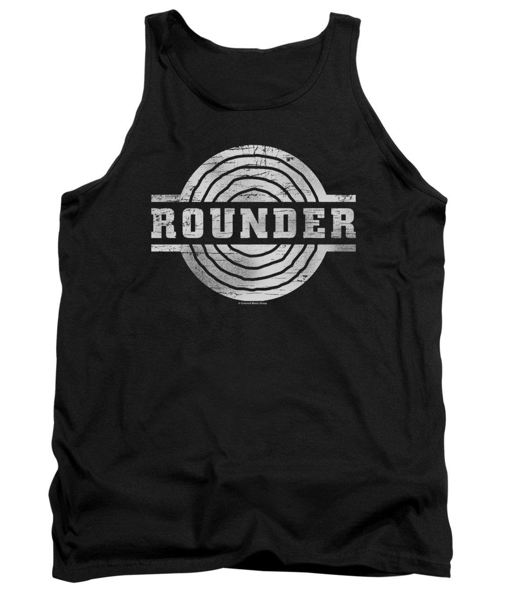 Concord Music Tank Top featuring the digital art Concord Music - Rounder Retro by Brand A