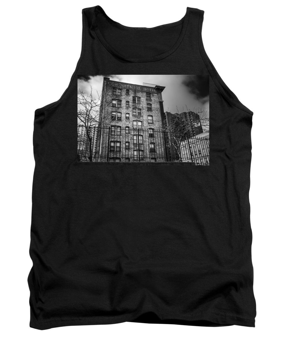 Continental Tank Top featuring the photograph Continental Hotel by Tom Gort