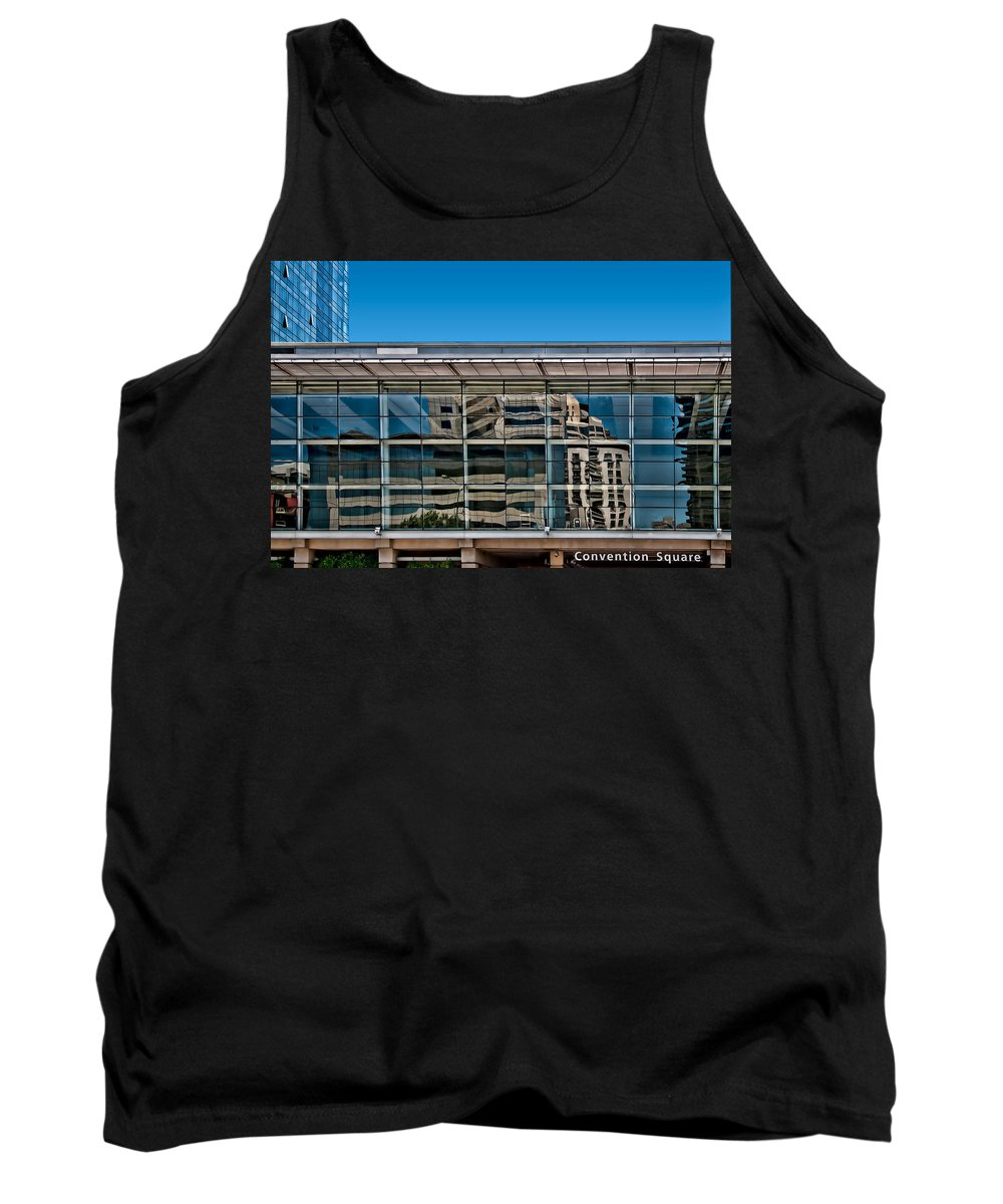 Africa Tank Top featuring the photograph Convention Square by Maria Coulson
