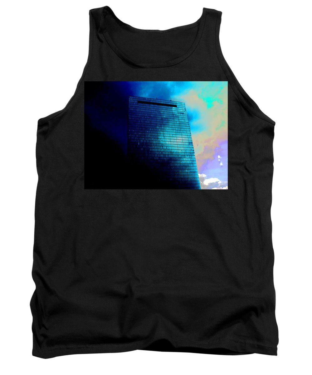Copley Square Tank Top featuring the photograph Copley Square by Marcello Cicchini