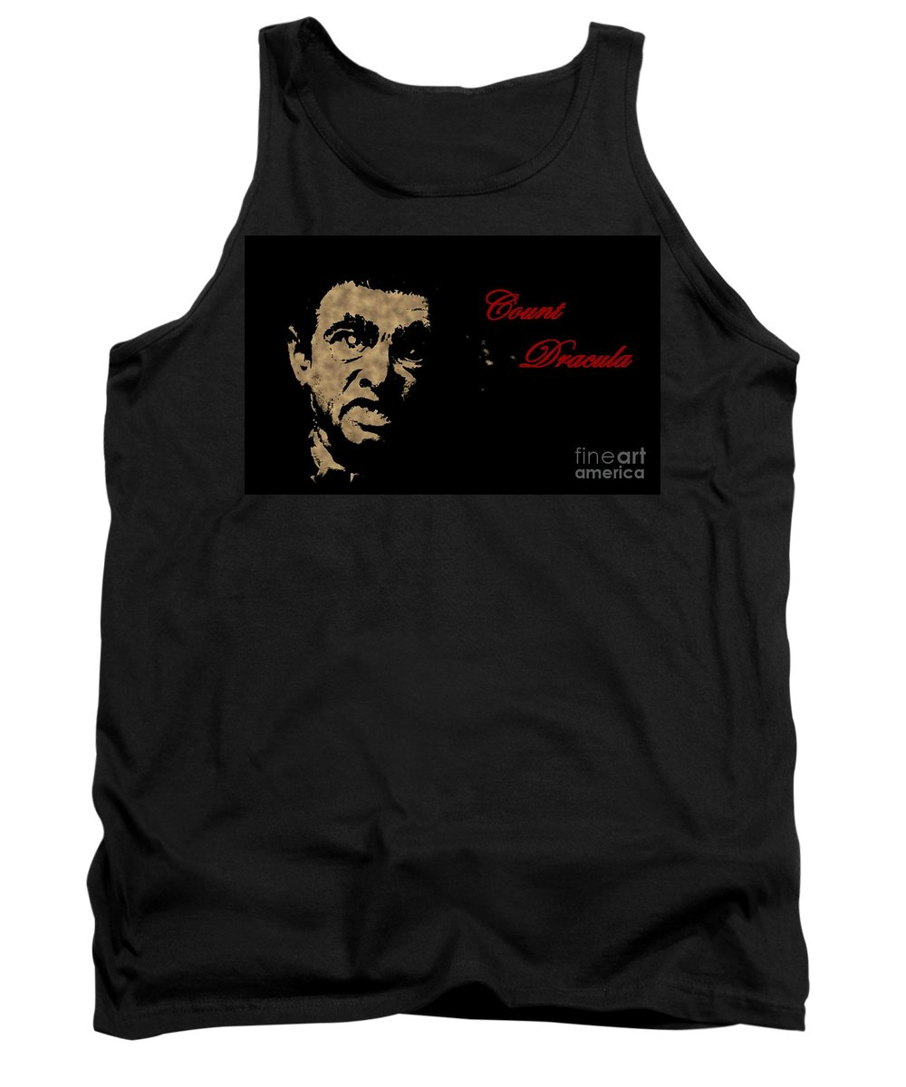 Nightmares Tank Top featuring the photograph Count Dracula Visits Halifax by John Malone