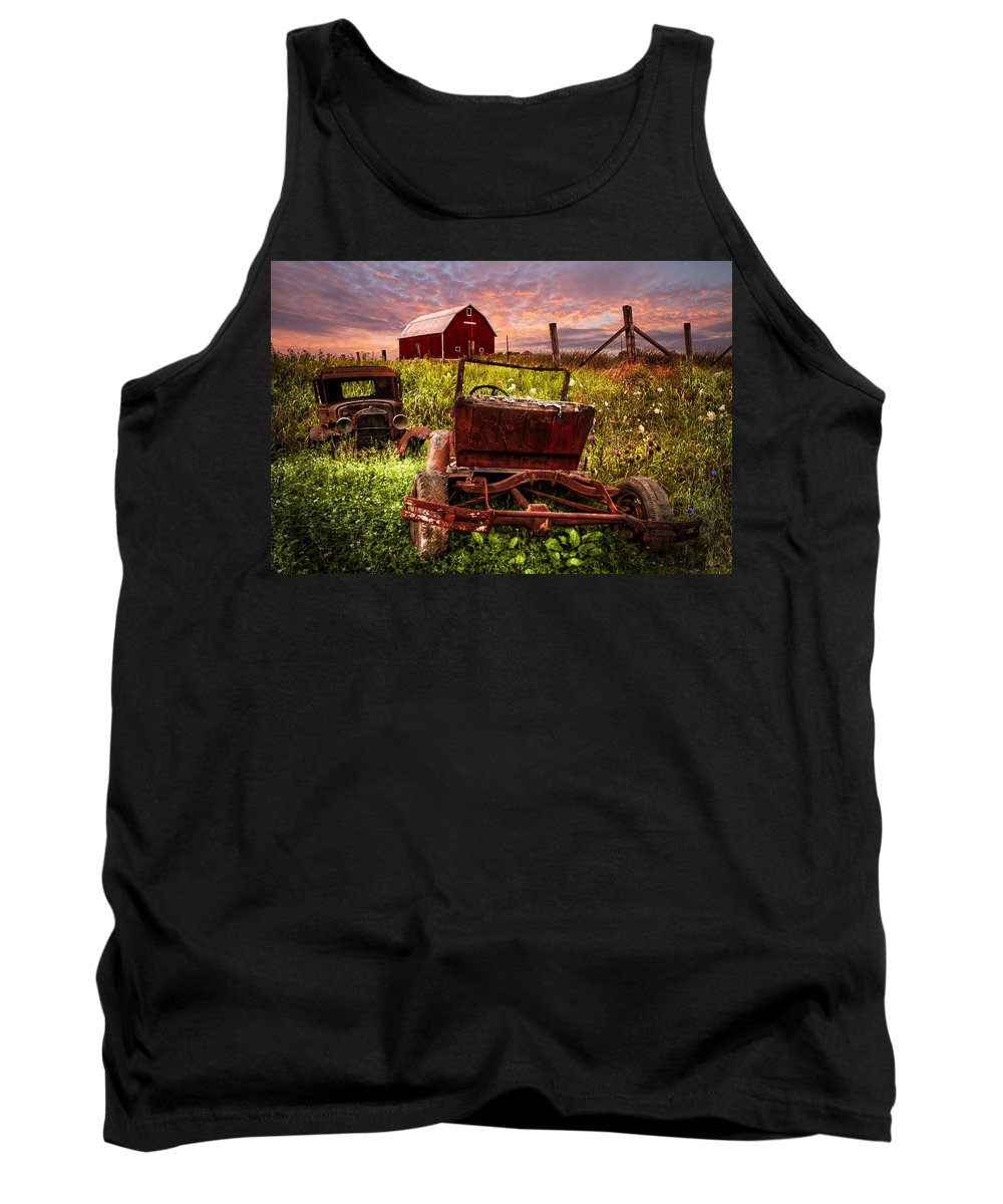 Appalachia Tank Top featuring the photograph Country Cousins by Debra and Dave Vanderlaan