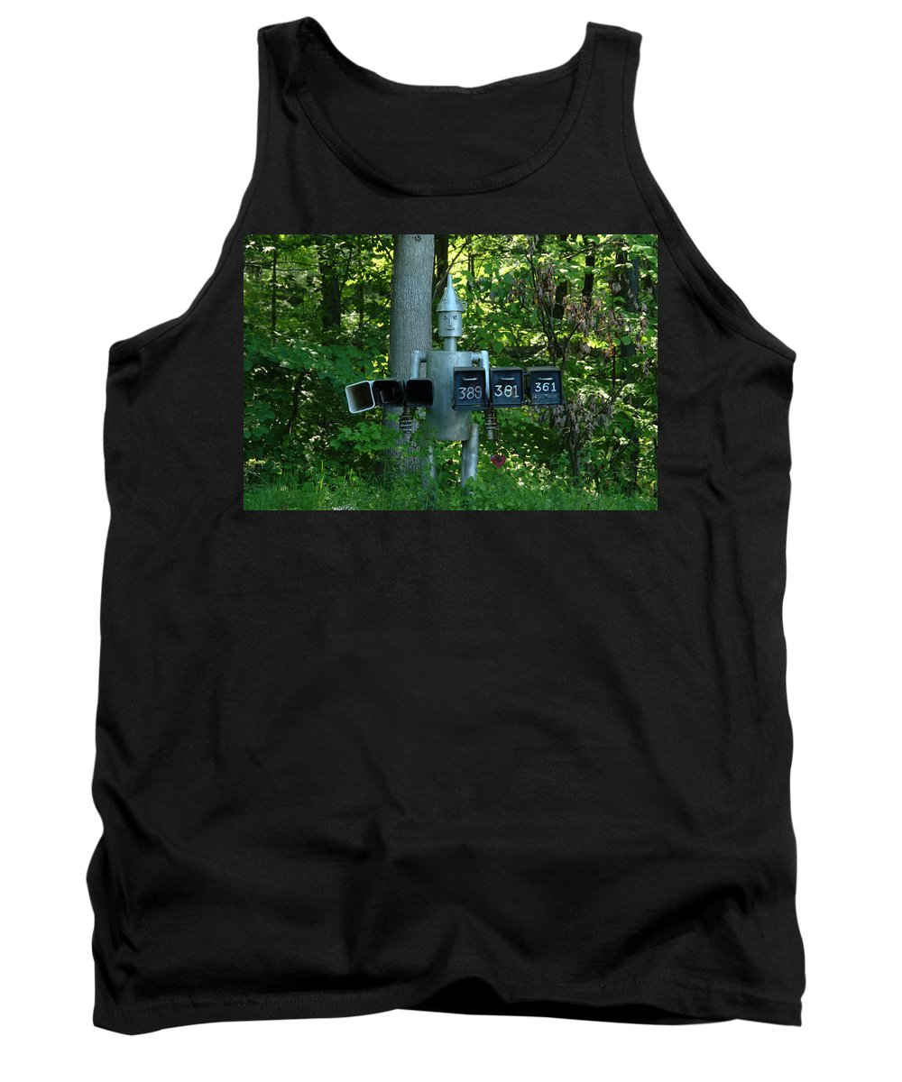 Countryside Tank Top featuring the photograph Countryside Mailbox #11 by Robert DeFosses