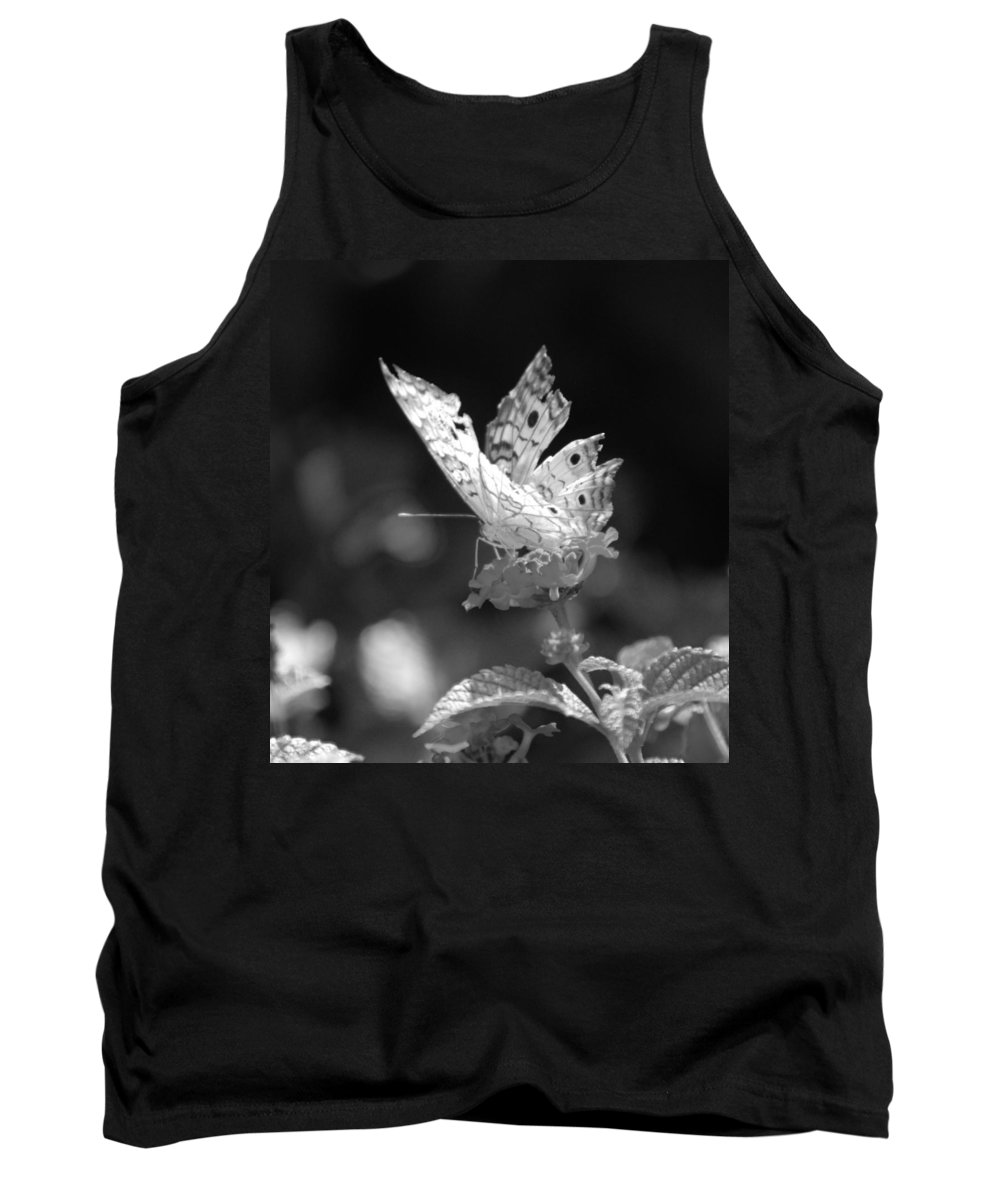 Lepidopterology Tank Top featuring the photograph Cracked Wing by Rob Hans