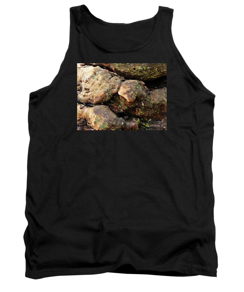 Tree Tank Top featuring the photograph Crotchety Old Moss Covered Tree Man by Chris Sotiriadis