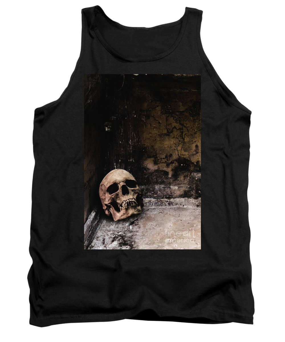 Atmosphere Tank Top featuring the photograph Crypt by Margie Hurwich