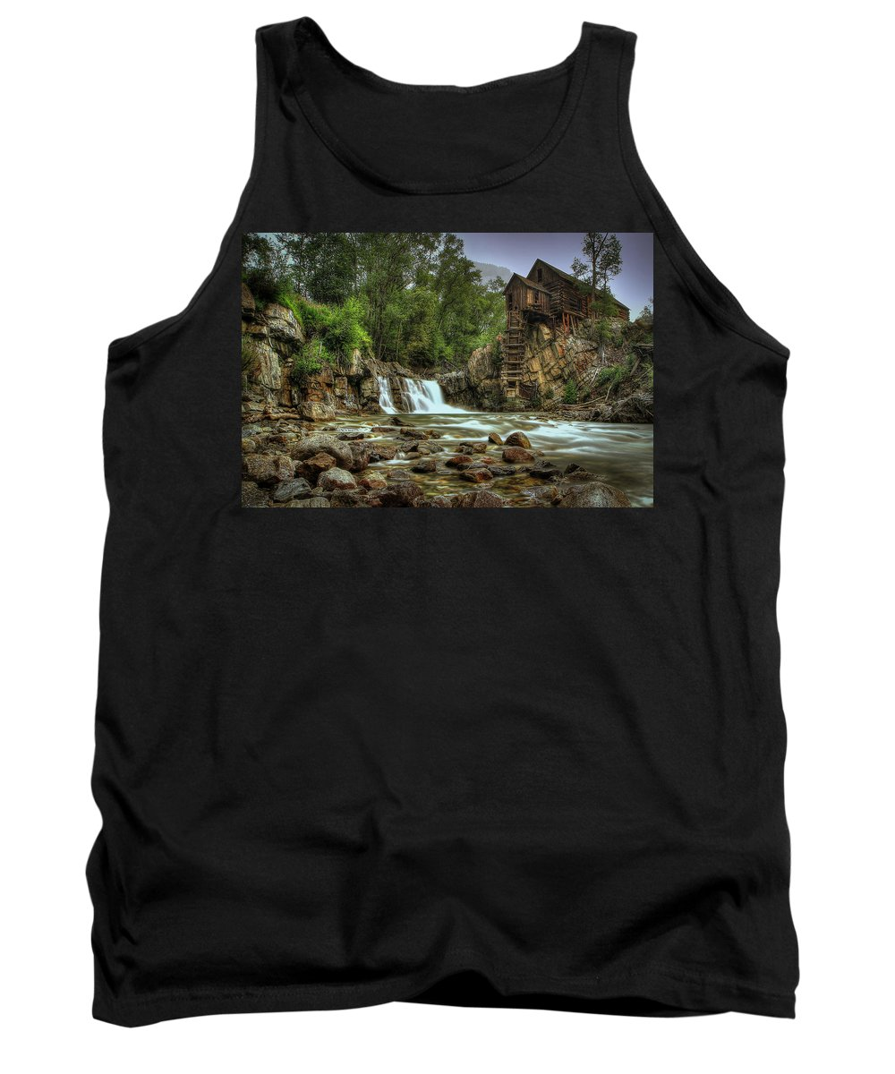 Crystal Mill Tank Top featuring the photograph Crystal Mill  by Ryan Smith