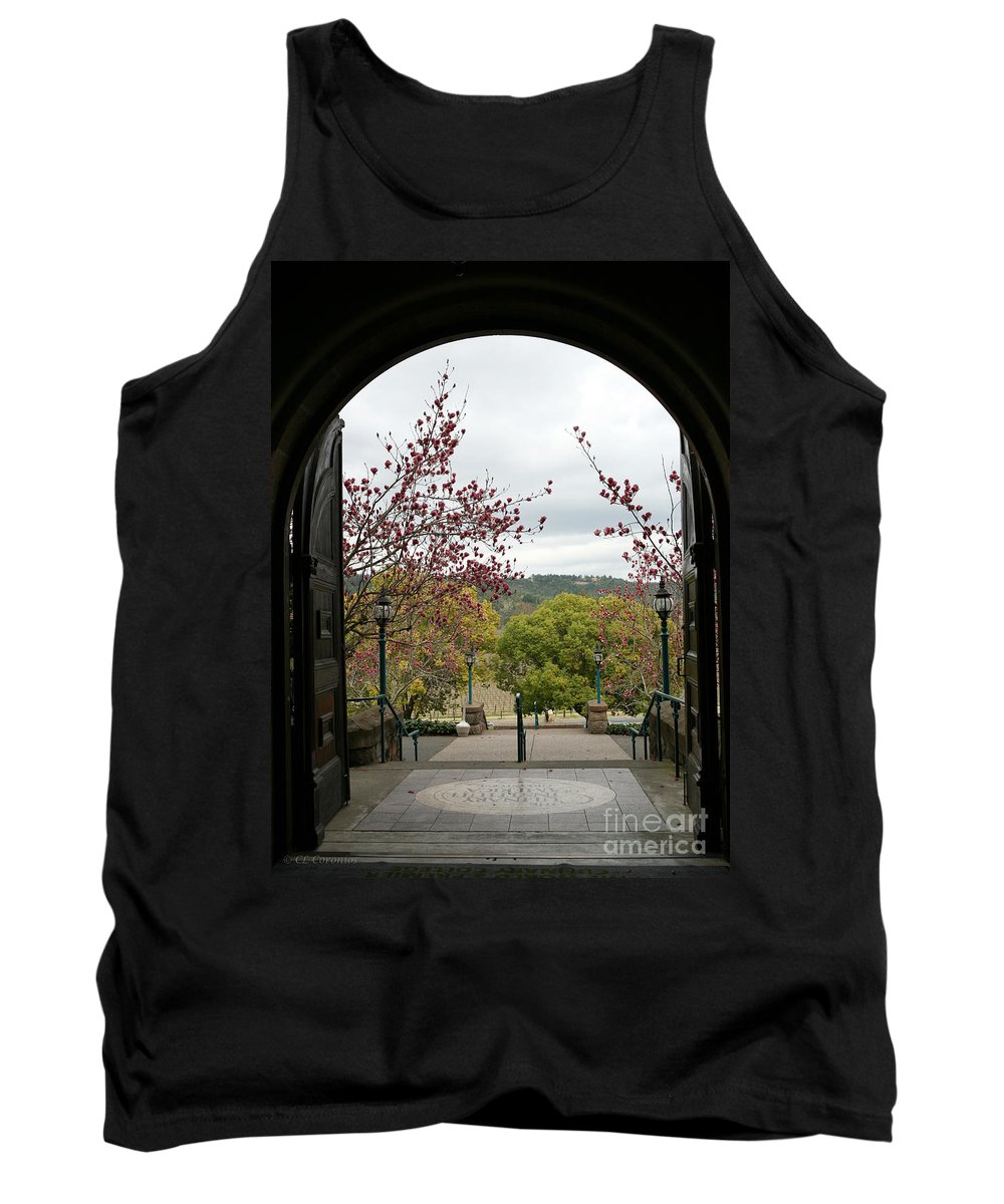 Culinary Institute Tank Top featuring the photograph Culinary Institute Of America At Greystone by Carol Lynn Coronios