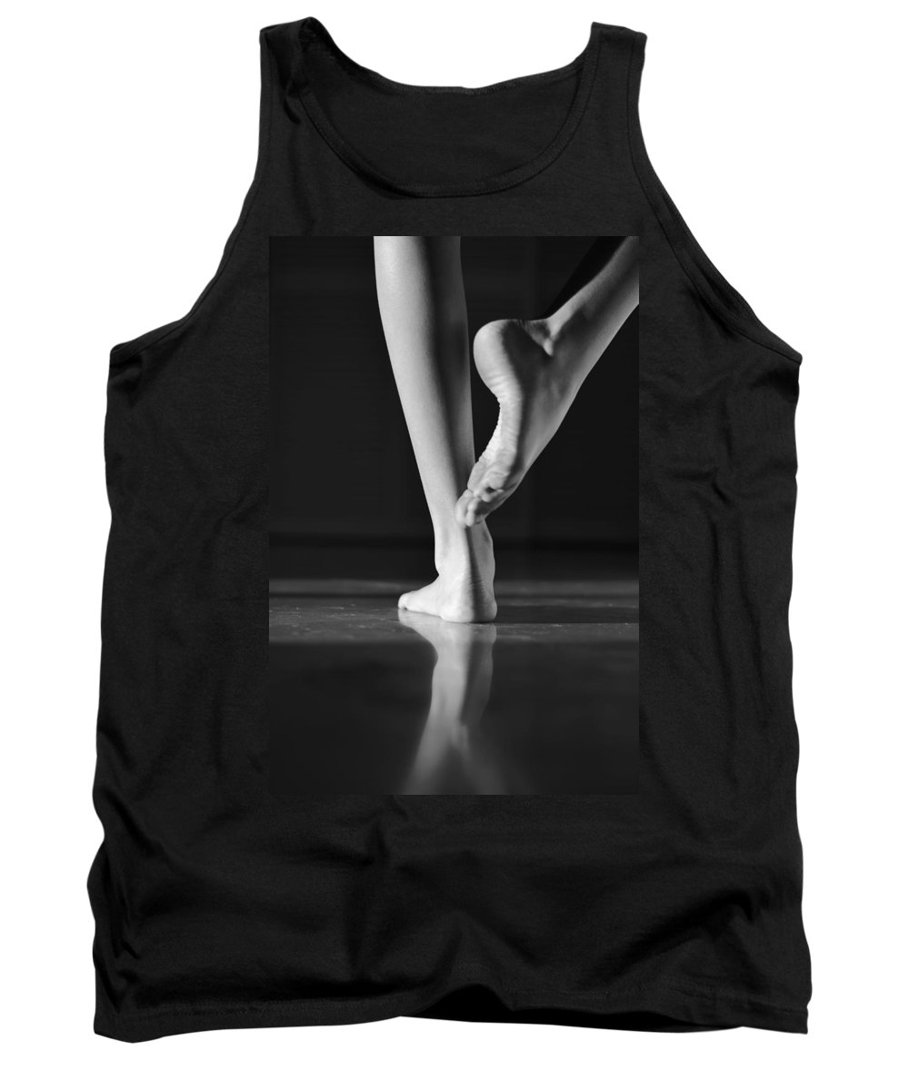 Laura Fasulo Tank Top featuring the photograph Dancer by Laura Fasulo