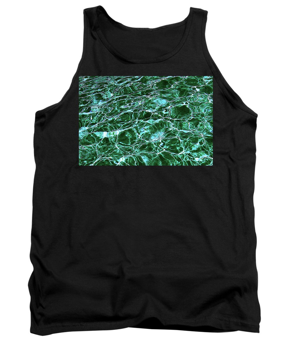 Water Tank Top featuring the photograph Dancing Water 8 by Peter Lloyd