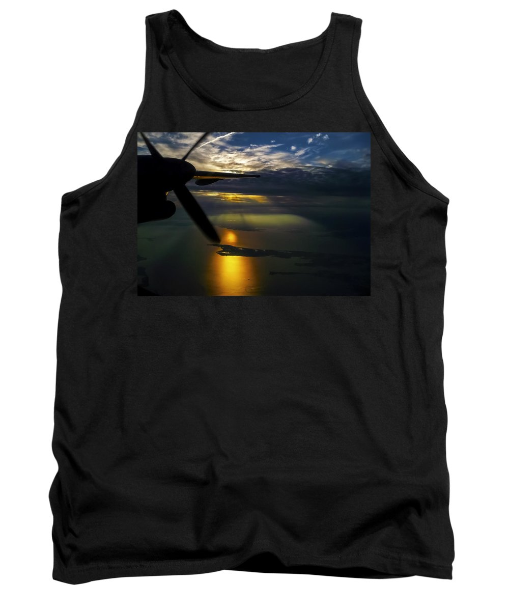 Sunset Tank Top featuring the photograph Dash Of Sunset by Greg Reed