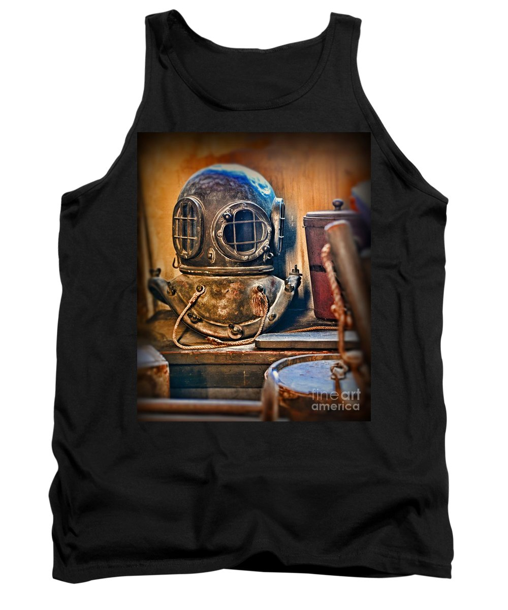 Dive Tank Top featuring the photograph Deep Sea Diver by Paul Ward