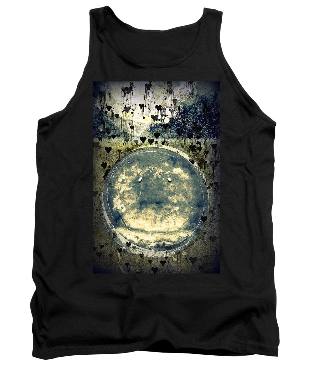 Depression Tank Top featuring the digital art Depression by Dawna Morton