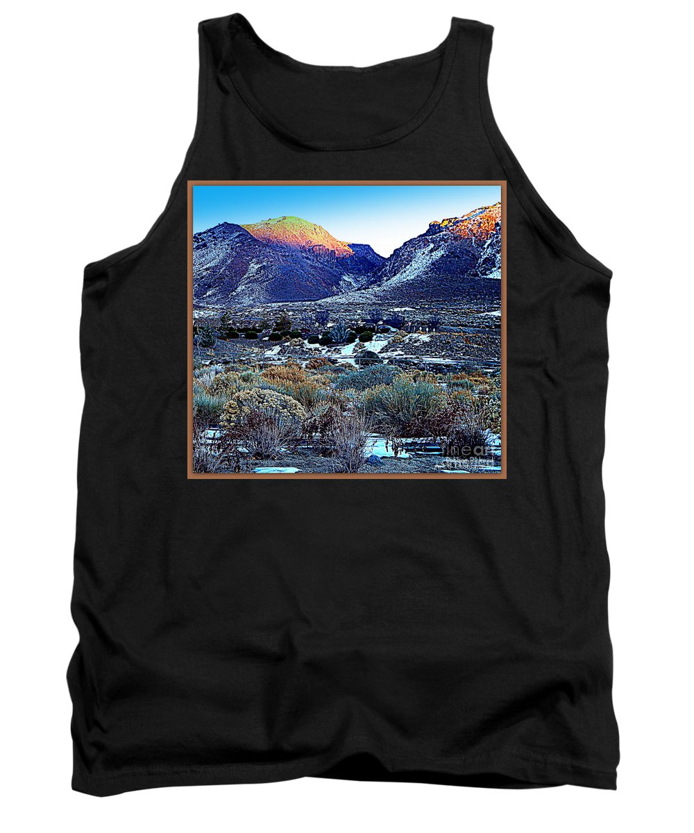 Acrylic Prints Tank Top featuring the photograph Desert Life by Bobbee Rickard