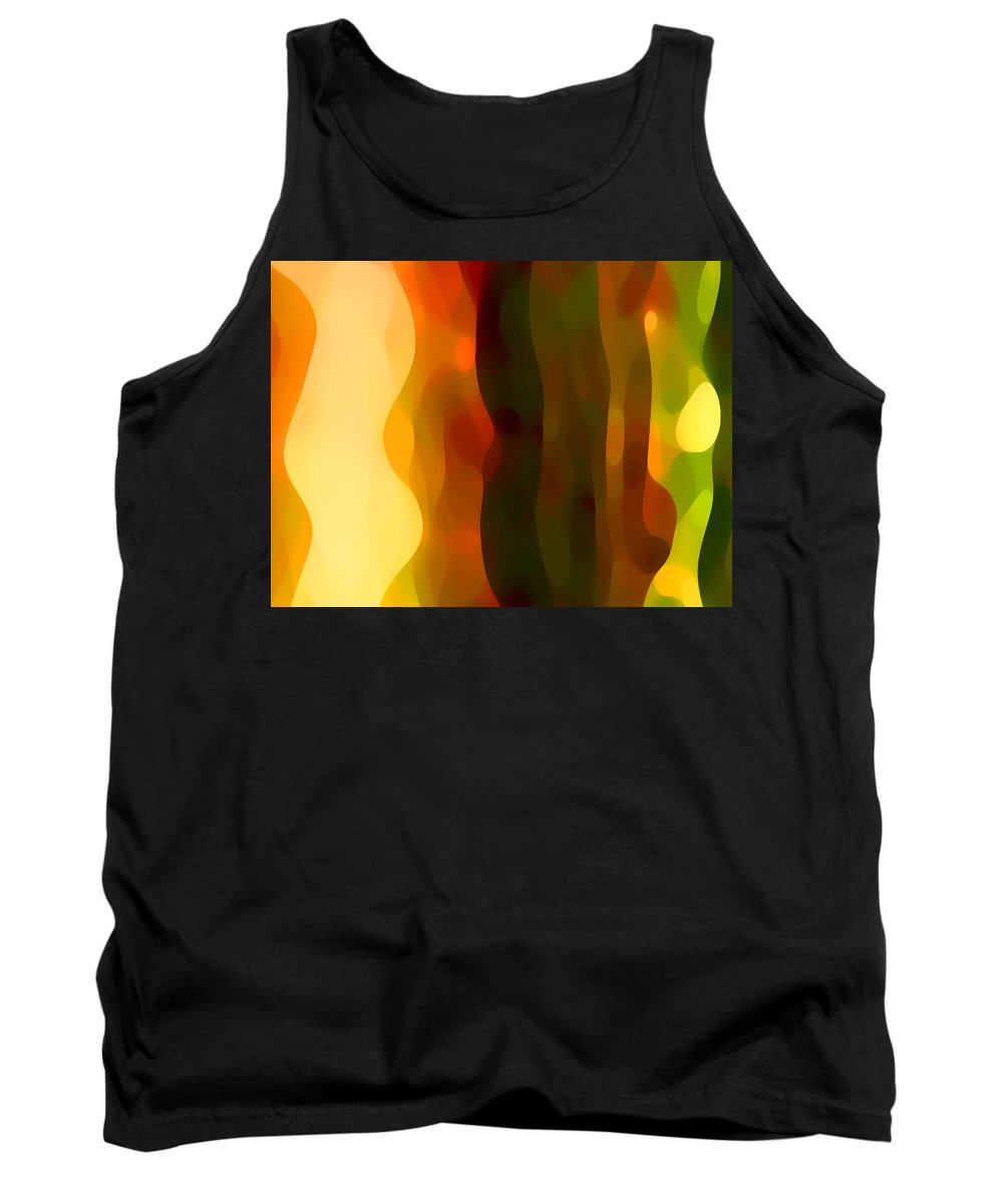 Bold Tank Top featuring the painting Desert Pattern 1 by Amy Vangsgard
