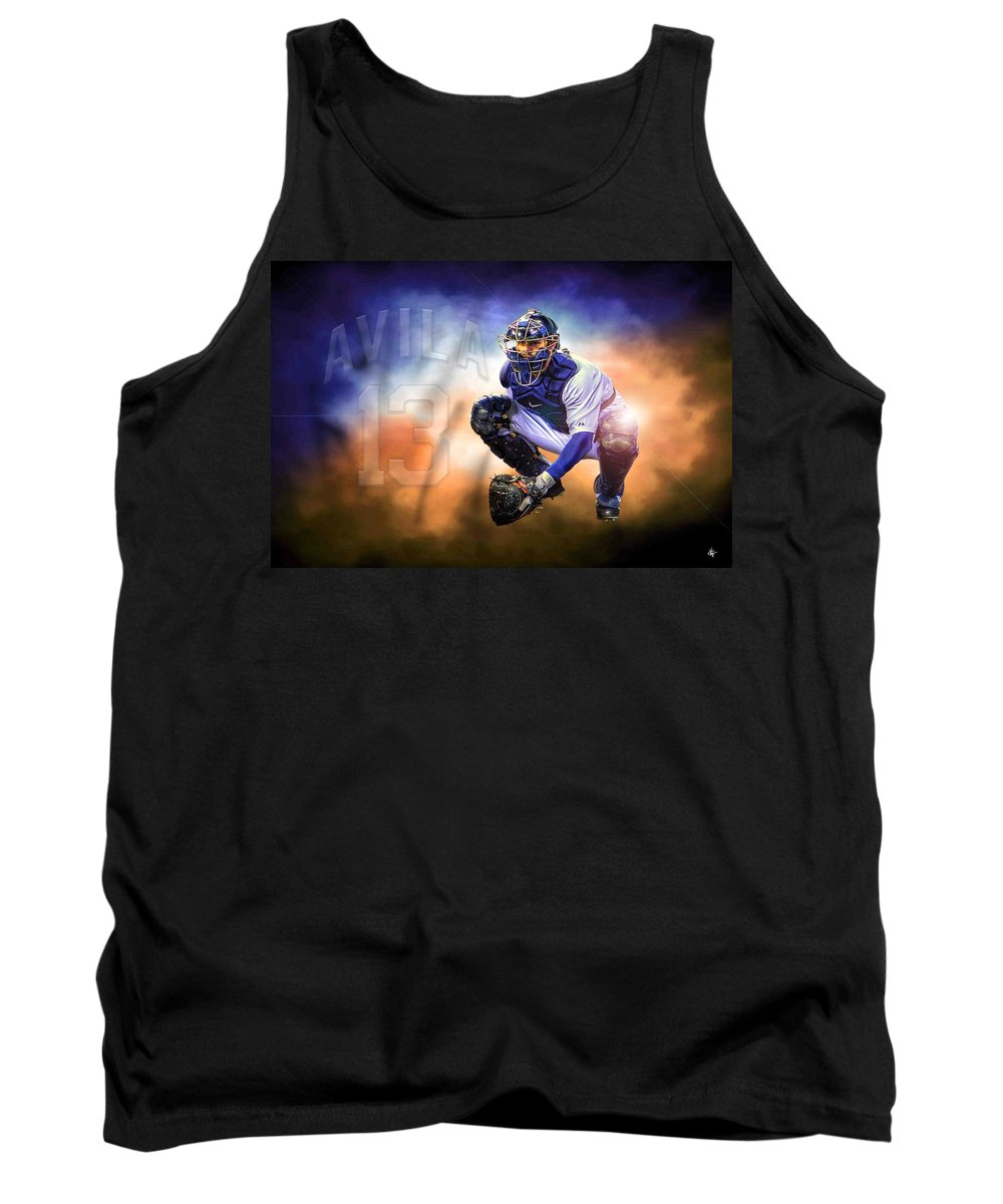 Alex Avila Tank Top featuring the photograph Detroit Tiger Alex Avila by A And N Art