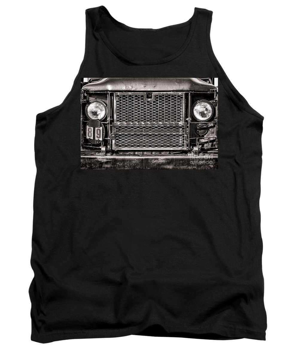 M35 Tank Top featuring the photograph Deuce And A Half by Olivier Le Queinec