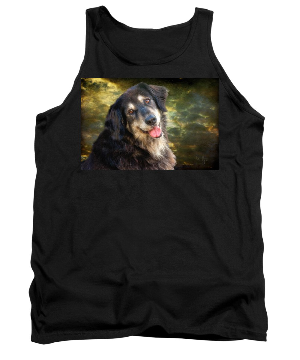 Xdop Tank Top featuring the photograph Diamond Huge by John Herzog