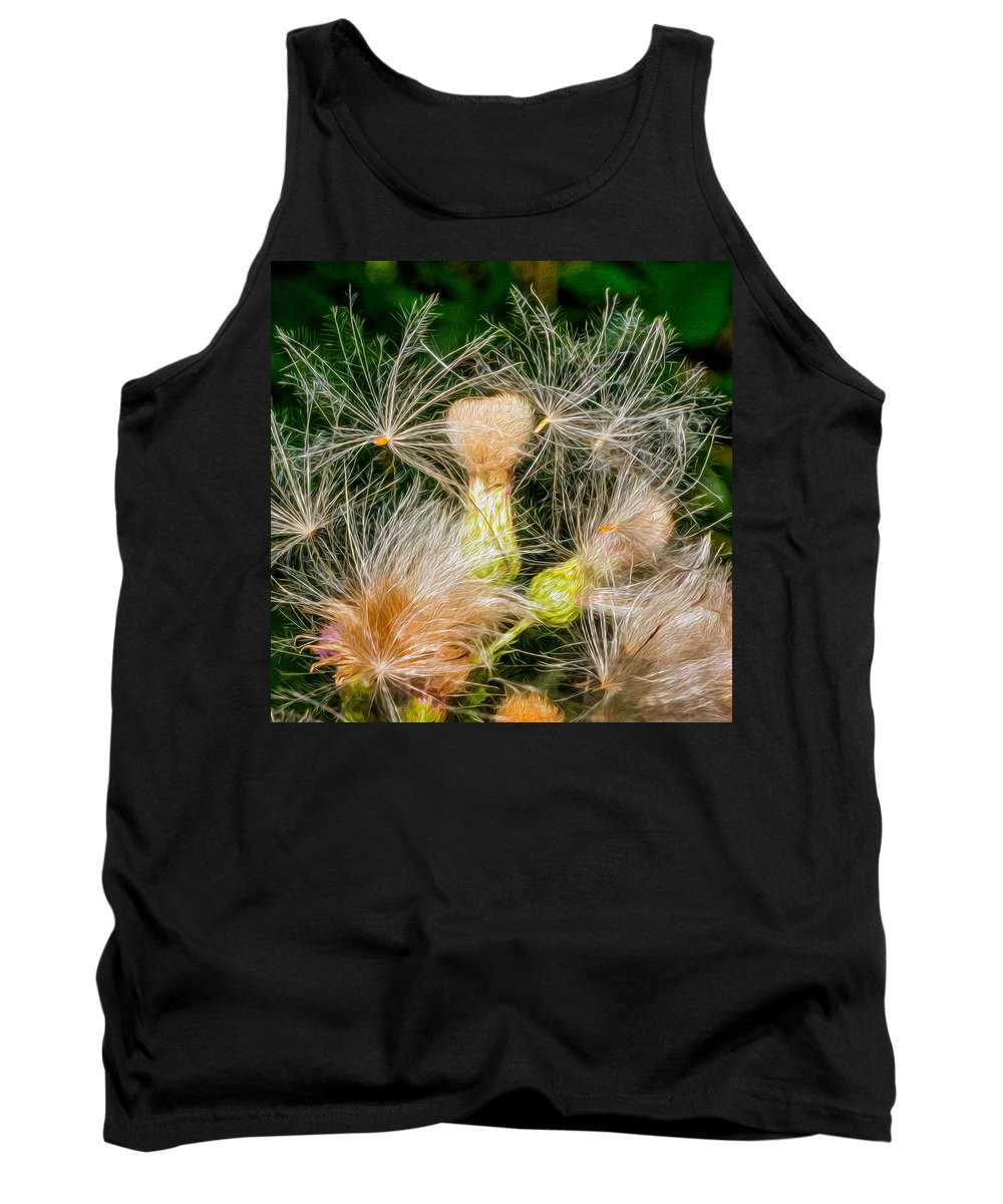 Flowers Tank Top featuring the photograph Ditch Party 2 by Steve Harrington