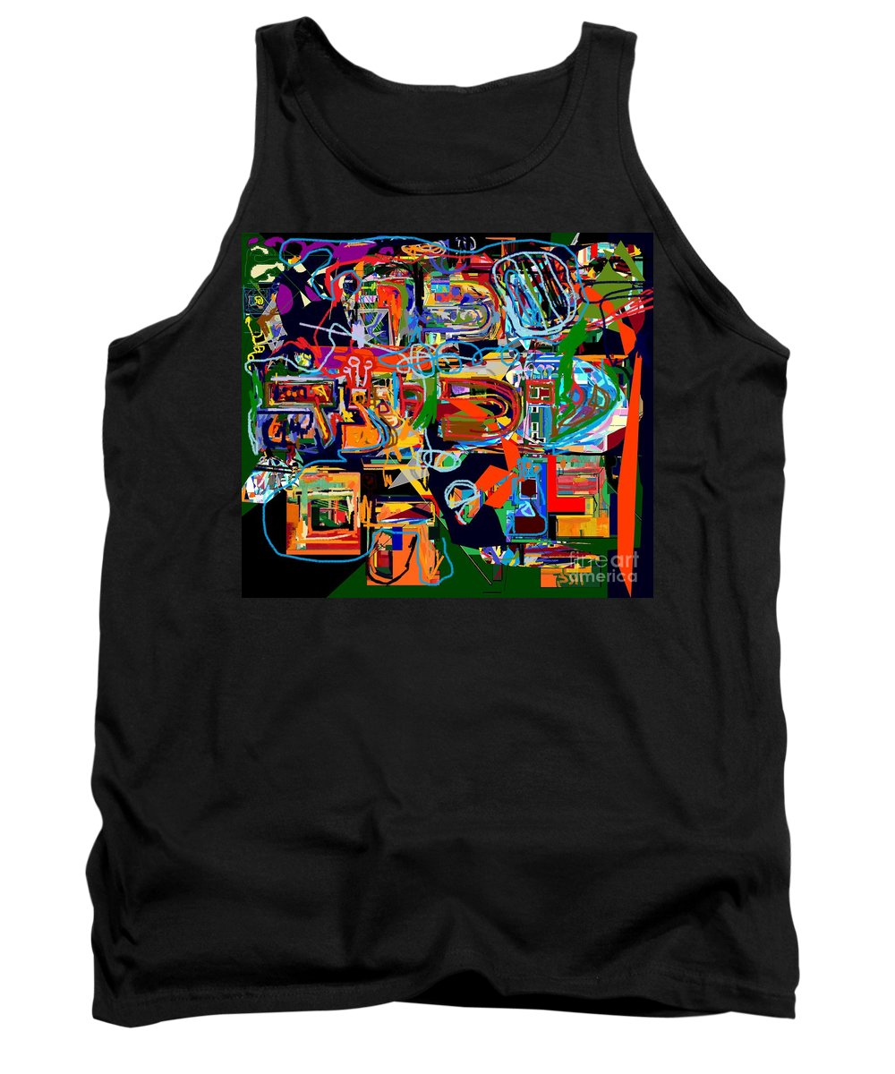 Torah Tank Top featuring the digital art Divinely Blessed Marital Harmony 25 by David Baruch Wolk