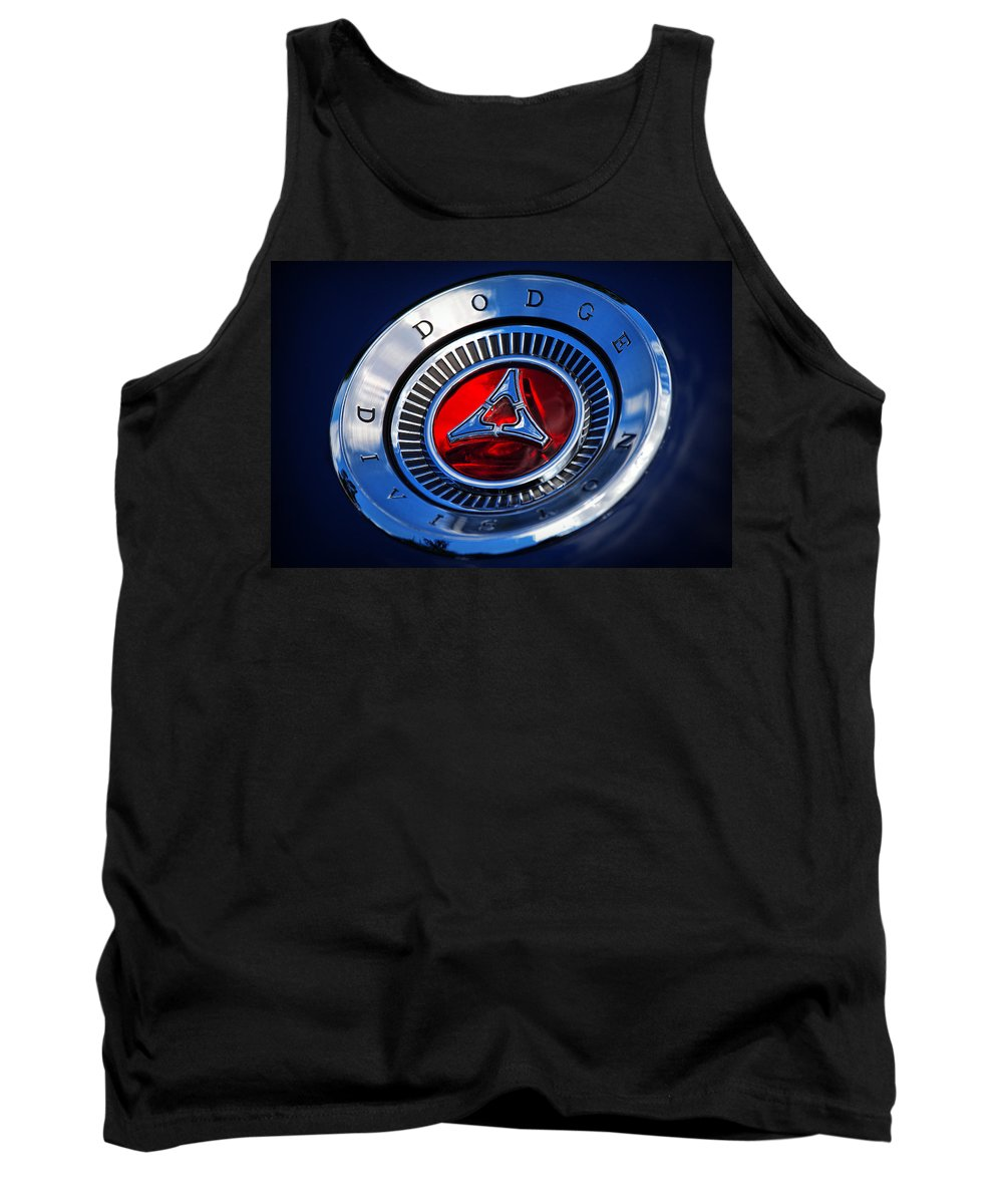 Dodge Tank Top featuring the photograph Dodge Division by Gordon Dean II