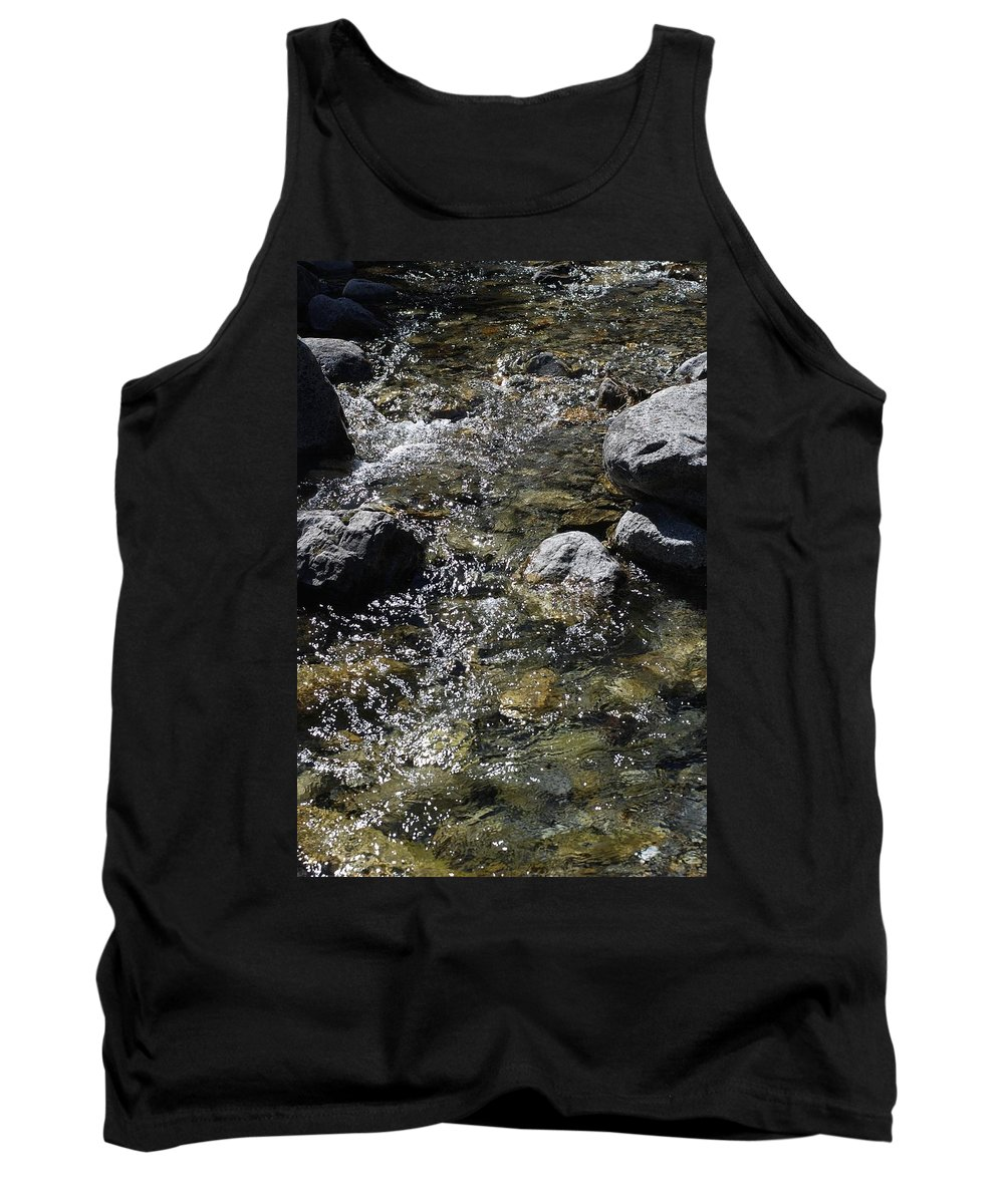 Down The River Tank Top featuring the photograph Down The River by Gina Dsgn