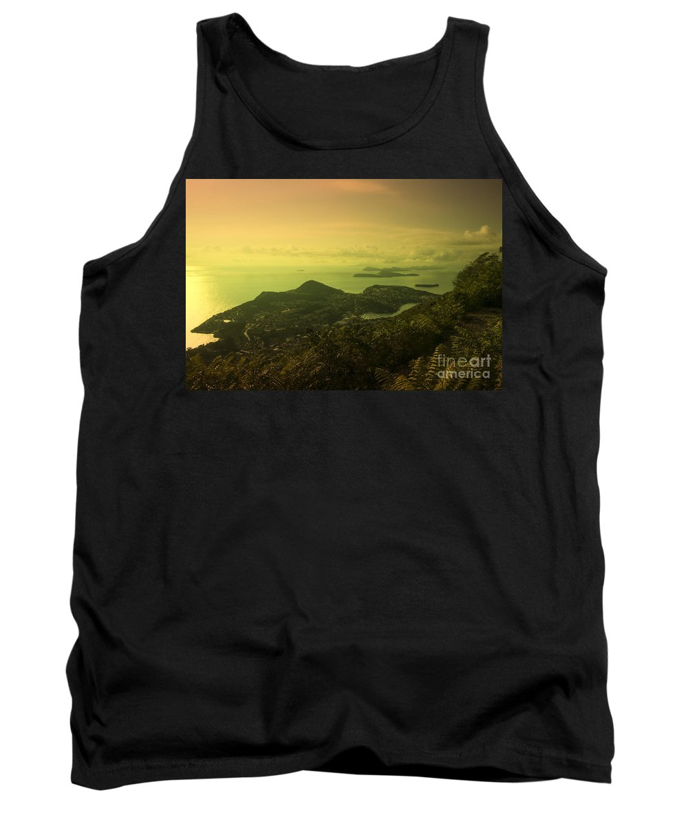 Dubrovnik Tank Top featuring the photograph Dubrovnik Islands by Rob Hawkins
