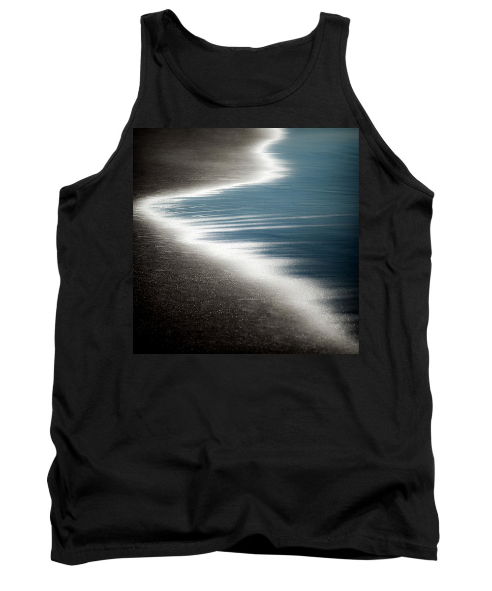 Beach Tank Top featuring the photograph Ebb And Flow by Dave Bowman