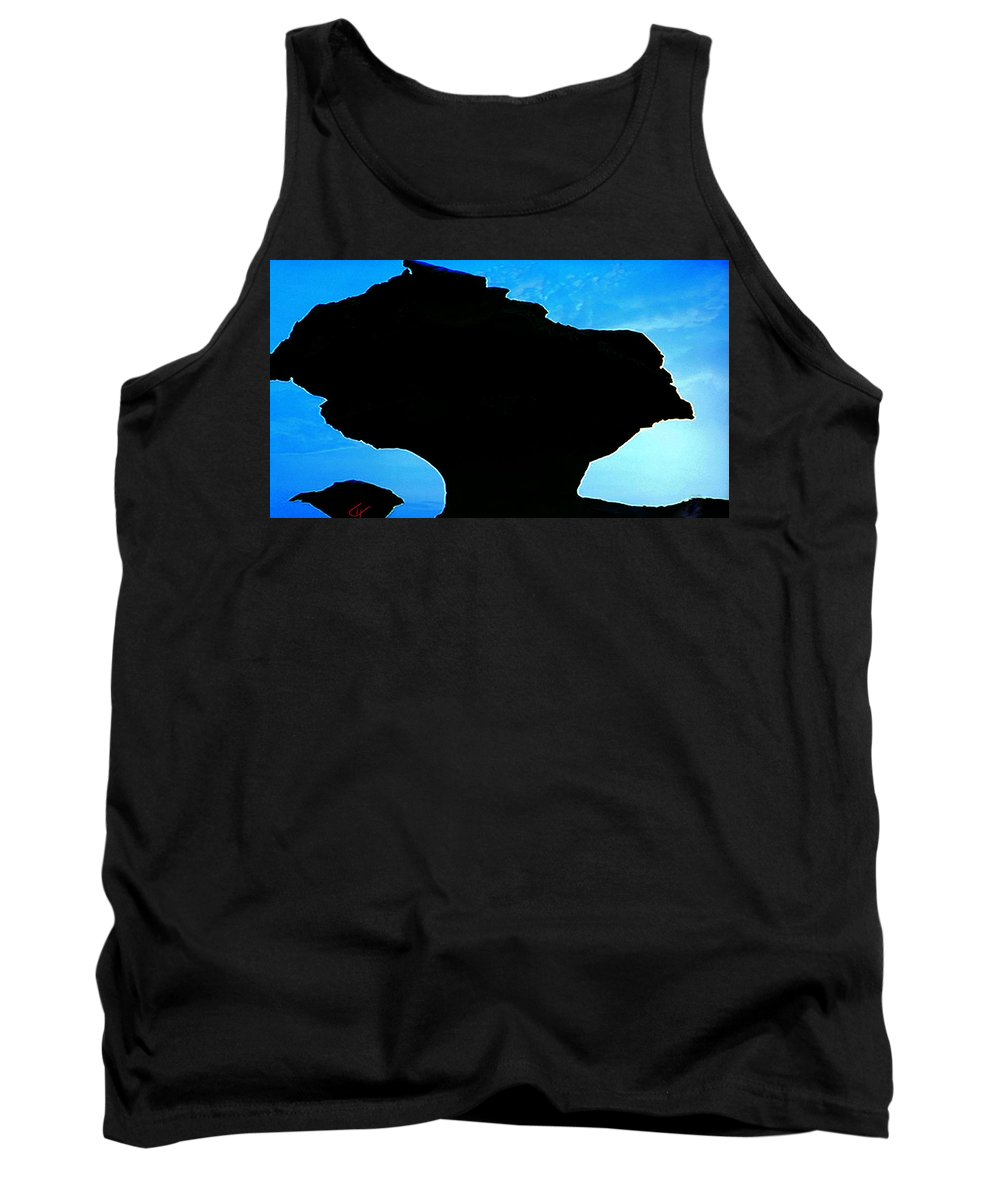 Colette Tank Top featuring the photograph Egypt Nature Formation by Colette V Hera Guggenheim