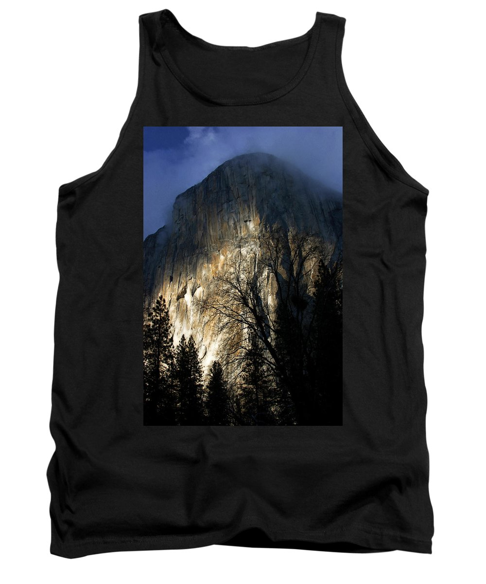 America Tank Top featuring the photograph El Capitan by Kyle Simpson
