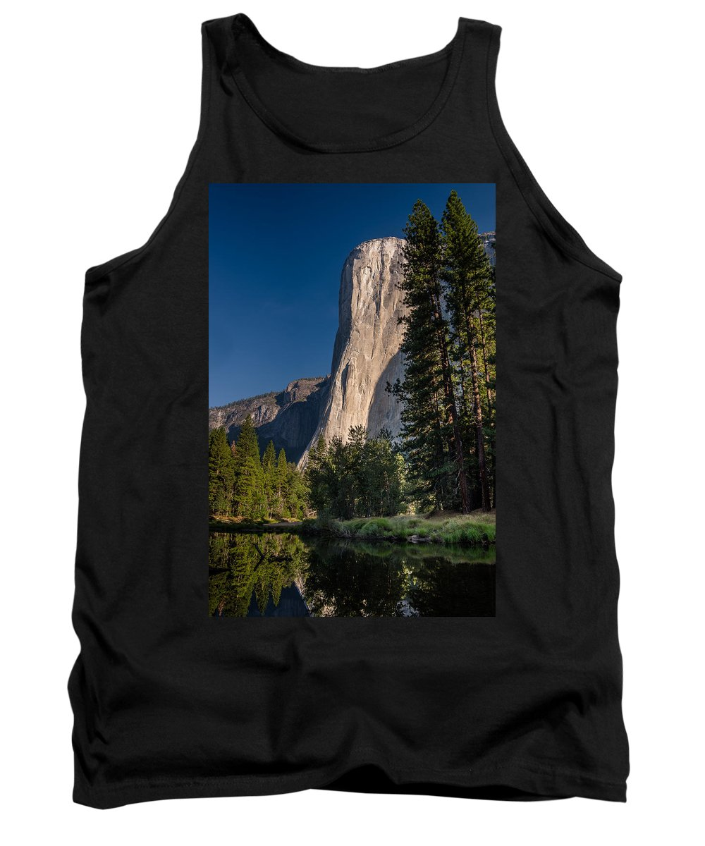 Yosemite National Park Tank Top featuring the photograph El Capitan Morning by Greg Nyquist