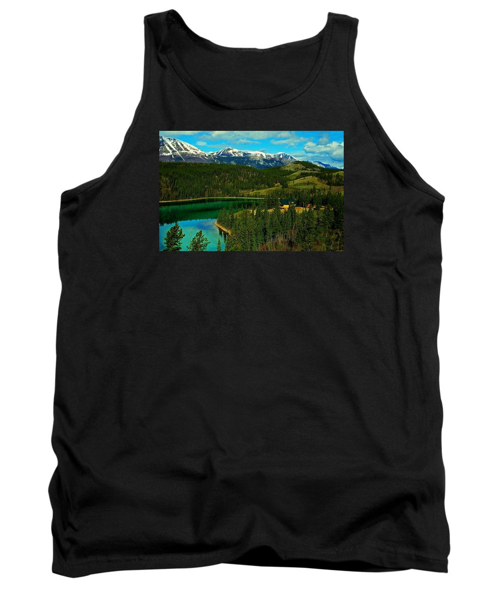 Emerald Tank Top featuring the photograph Emerald Lake - Yukon by Juergen Weiss
