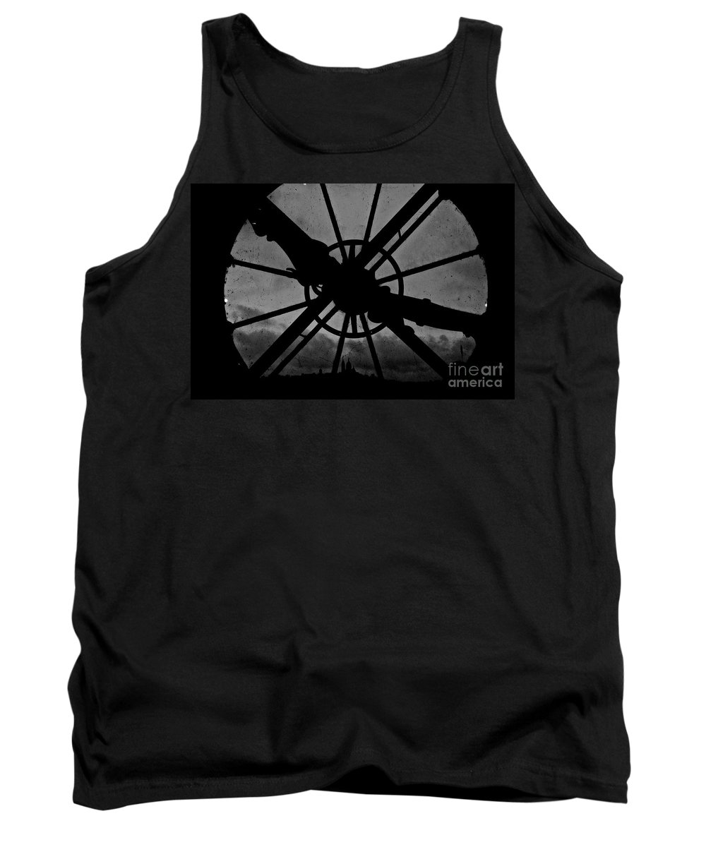 End Tank Top featuring the photograph End Of Time by Donato Iannuzzi