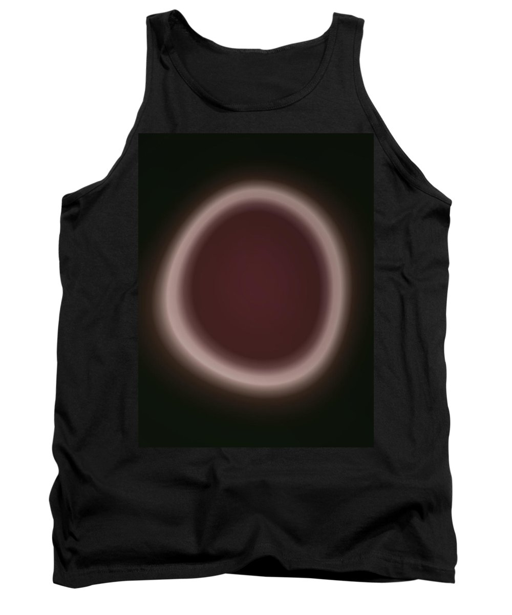 zen Buddism Zen Buddism Religion religious Symbols Calligraphy abstract Art Fractals Tank Top featuring the photograph Enso 02 by Bill Owen