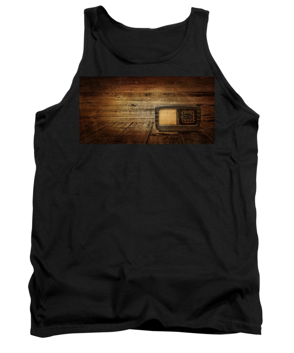 Radio Tank Top featuring the photograph Entertainment by Heike Hultsch