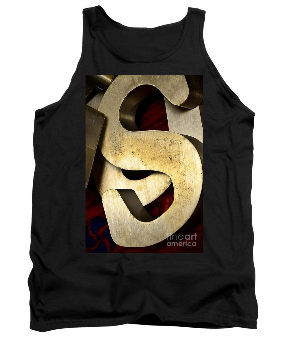 Abstract Tank Top featuring the photograph Essss by Lauren Leigh Hunter Fine Art Photography