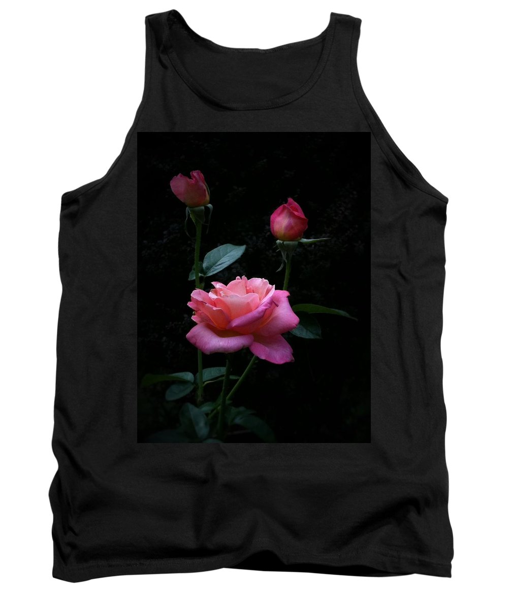 Floral Tank Top featuring the photograph Evening Delight by Tammy Garner