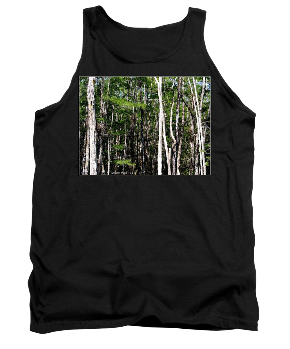 Everglade Magic Tank Top featuring the photograph Everglade Magic by Ed Smith