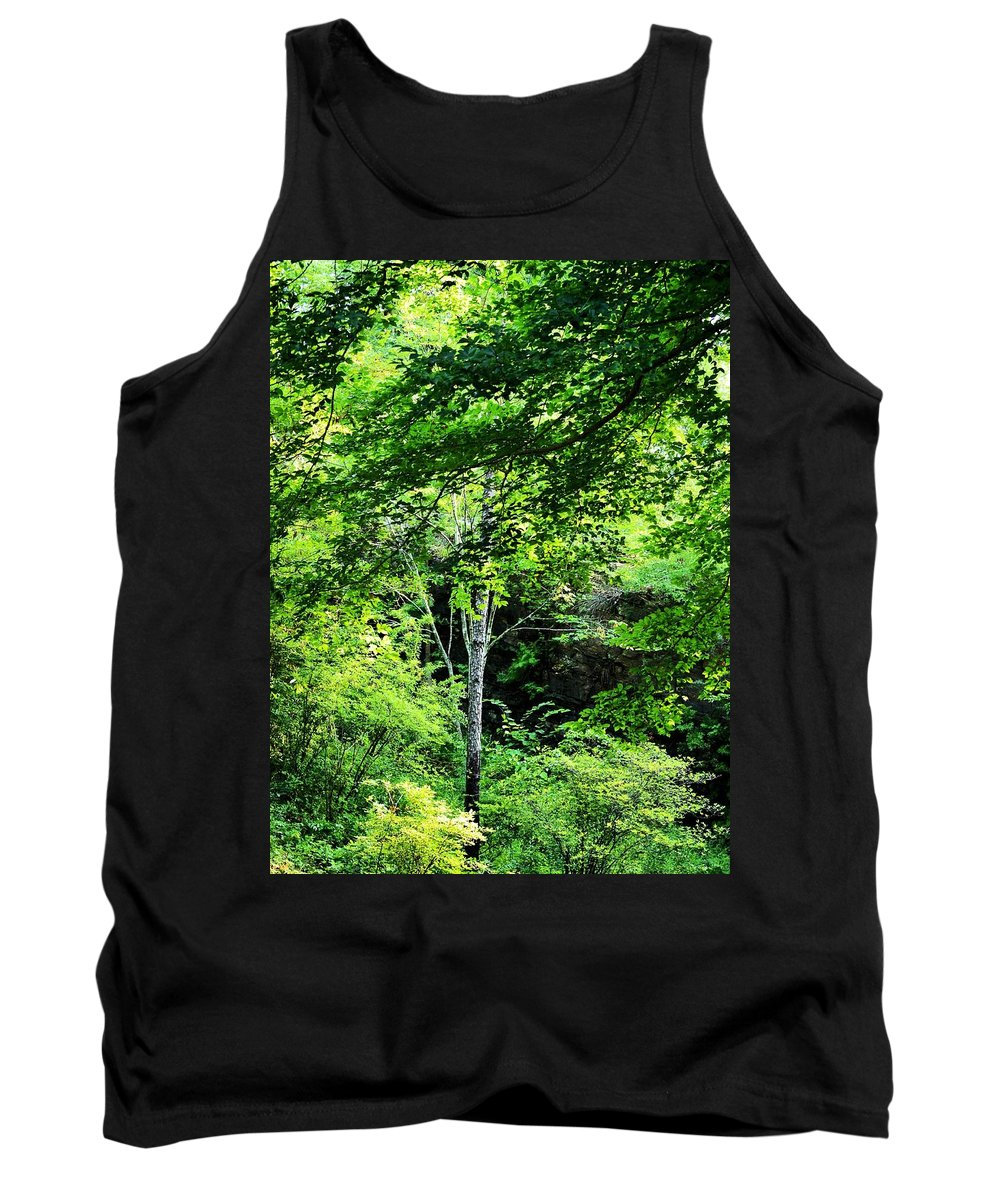 Every Shade Of Green Tank Top featuring the photograph Every Shade Of Green by Maria Urso