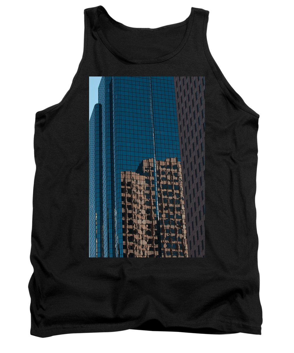 Boston Tank Top featuring the photograph Exchange Place by Paul Mangold