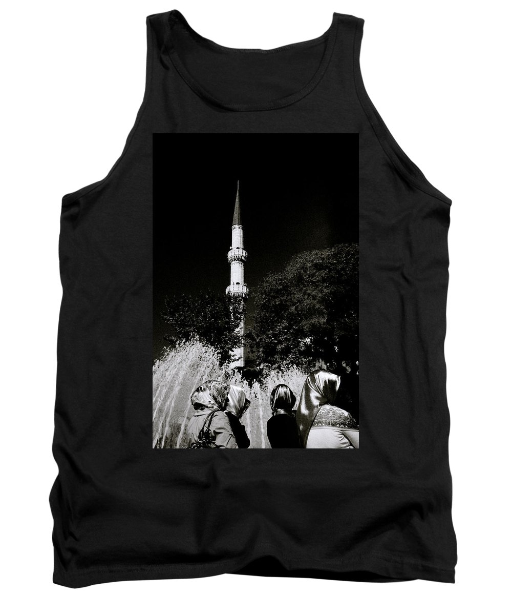 Chiaroscuro Tank Top featuring the photograph Eyup by Shaun Higson