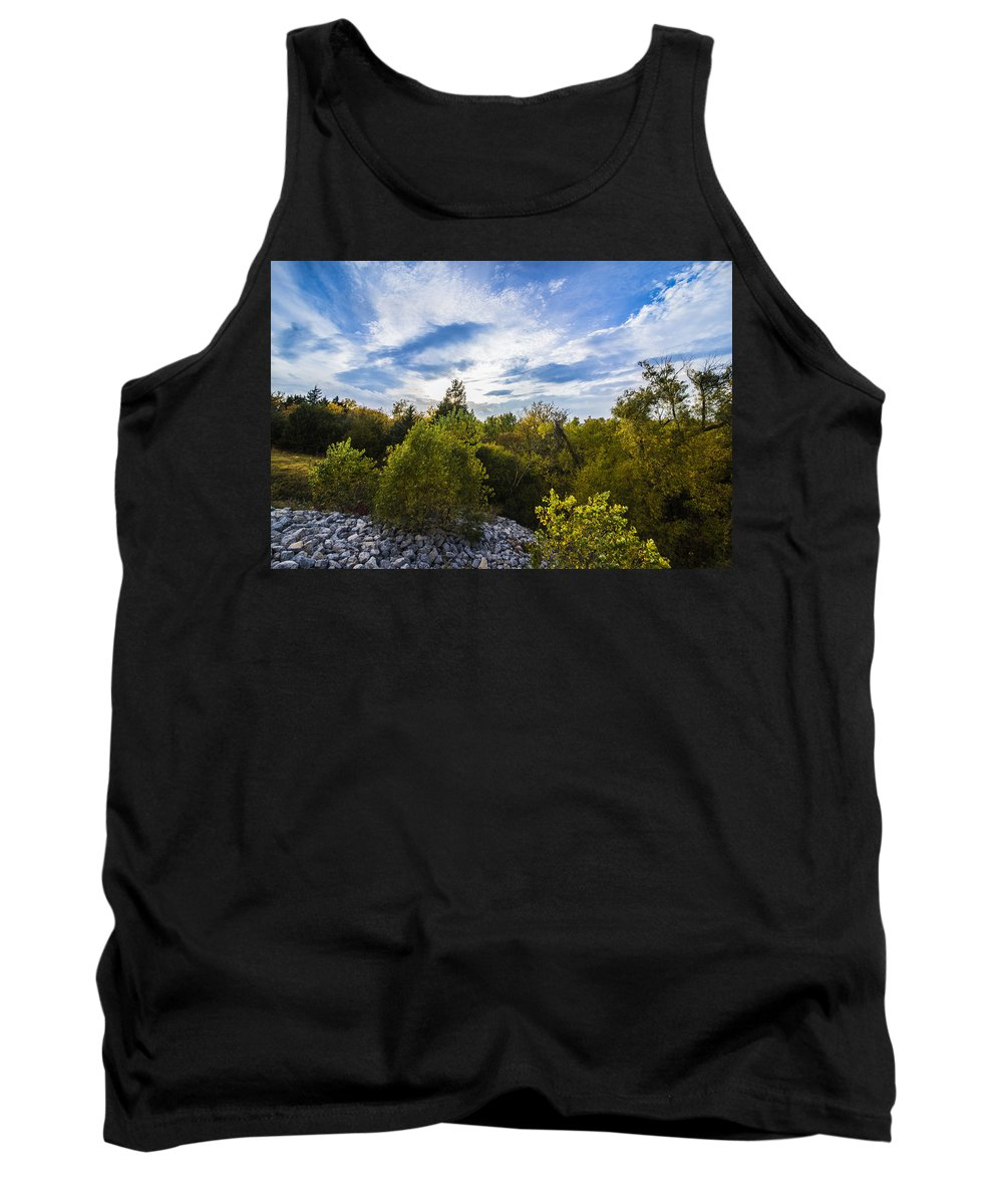 Fall Tank Top featuring the photograph Fall Is Coming by Brandon Sullivan