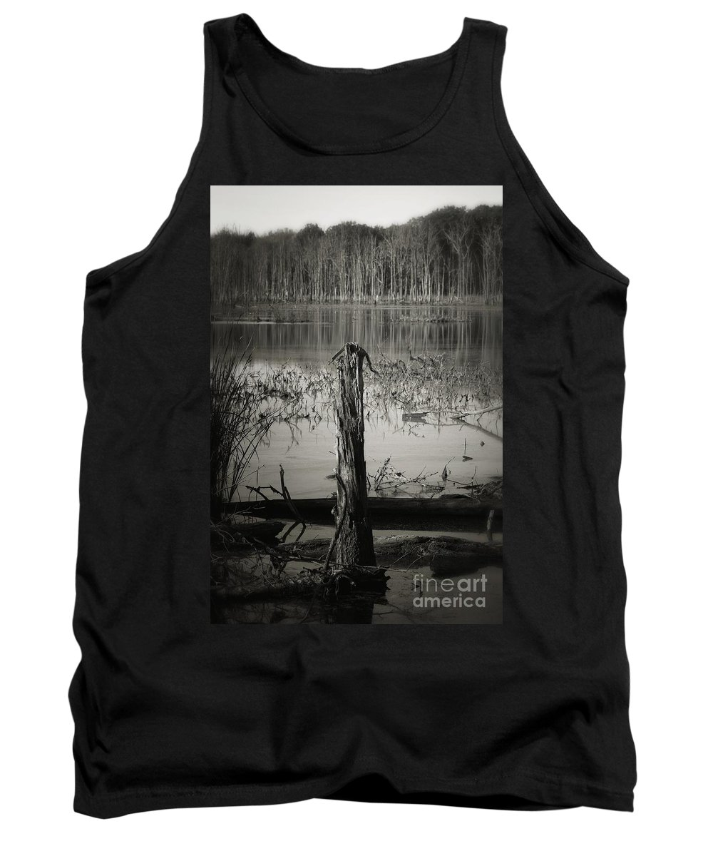 Tank Top featuring the photograph Fancher Davidge 1 by Chet B Simpson